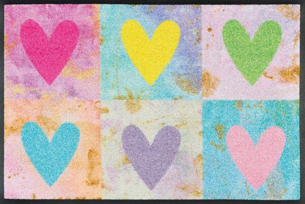 Candy Hearts 50x75cm