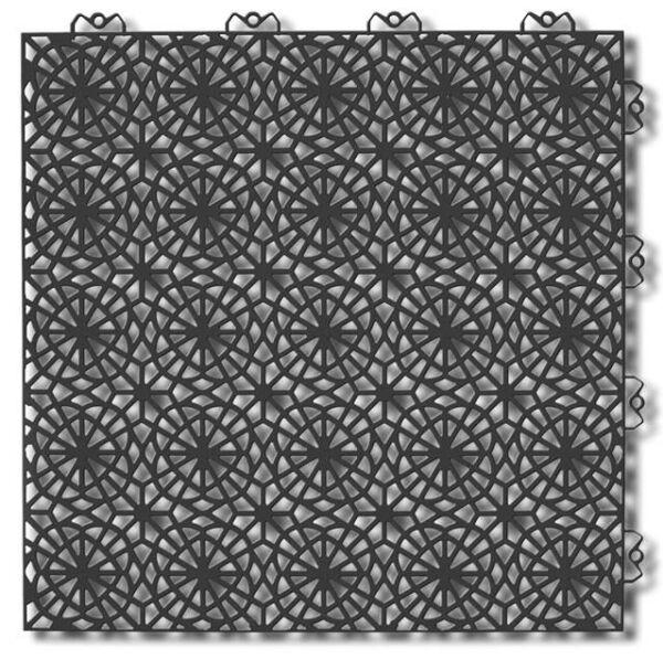 Piastrelle componibile da esterno XL Graphite grey 217