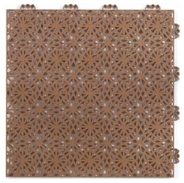 Piastrelle componibile da esterno XL Terracotta 222
