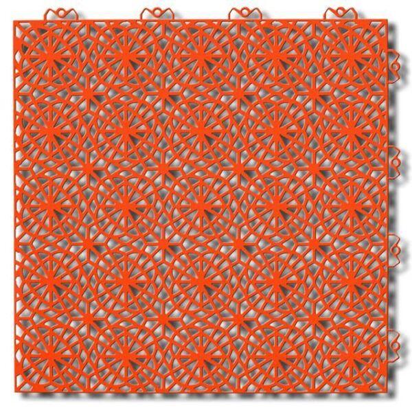 Piastrelle componibile da esterno XL Orange Glow 227